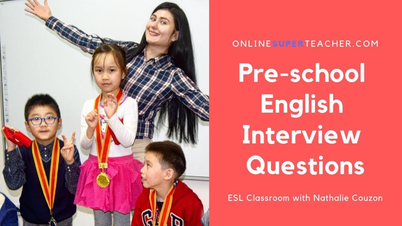 Nursery School Admission Interview Questions - Online Super