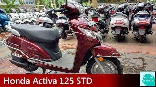 Honda Activa 125 STD Detailed Walkaround, Start up and Exhaust Note | carnama