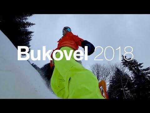 Bukovel. Январь, 2018. 4k