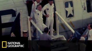 Zobacz lądowanie bohaterów, którzy zdobyli księżyc! [Apollo 8: przełomowa misja]