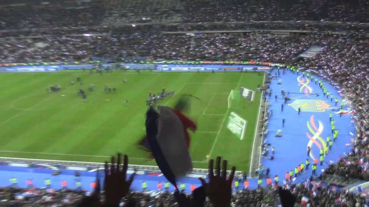 Ballfoot : France - Ukraine 3-0 but ambiance résumé highlights all goals Coupe du Monde barrages