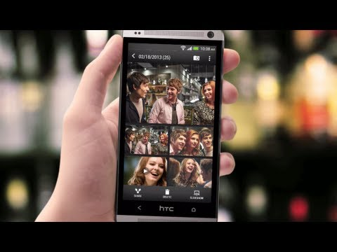 HTC One (M7) - Instantly create and share events with Video Highlights
