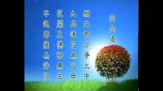 迴向偈-願生西方淨土中 Vow to be born on the western pure land