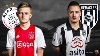 Dani Hagebeuk - Bryan Hessing | Ajax - Heracles Almelo | Speelronde 24 | E-Divisie