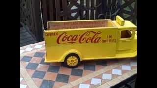 Scratchbuilt Coca Cola Case Homemade Wood Truck