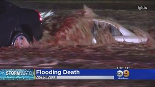 Male Motorist Killed In Victorville After Being Overcome By Flash Flood