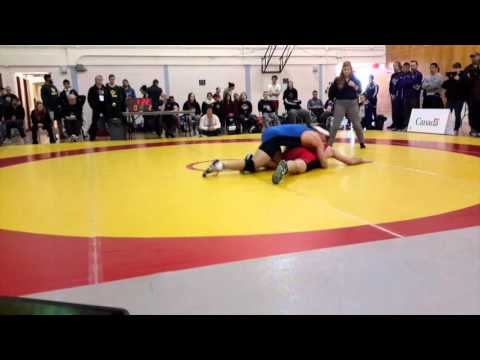 2016 Canadian Junior Greco-Roman Championships: 84 kg Jackson Browning vs. Jeremy Poirier