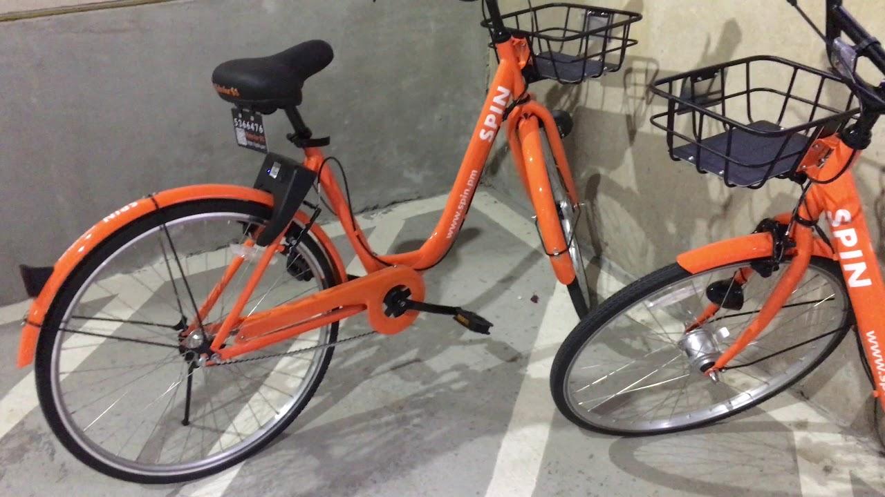 New bike share program in Dallas - $1 per ride.
