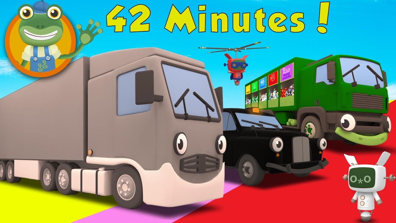 Larry The Lorry And More Big Trucks For Children Gecko S Garage