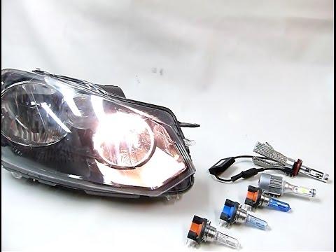 Ampoules H15 LED - Halogène Blanc Xénon