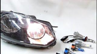 ampoules h15 led halogne blanc xnon