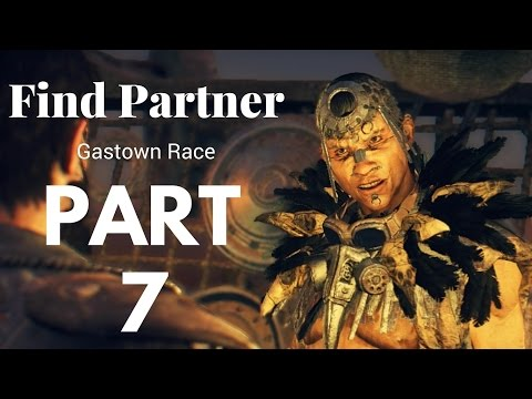 Mad Max Walkthrough Gameplay Part 7 - Find Partner for Gastown Race