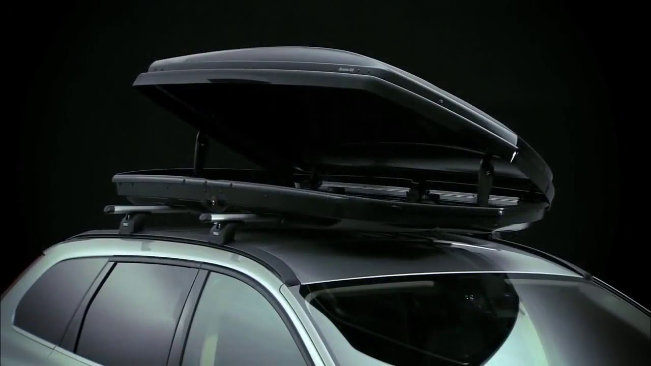 Thule Motion Roof Box Youtube