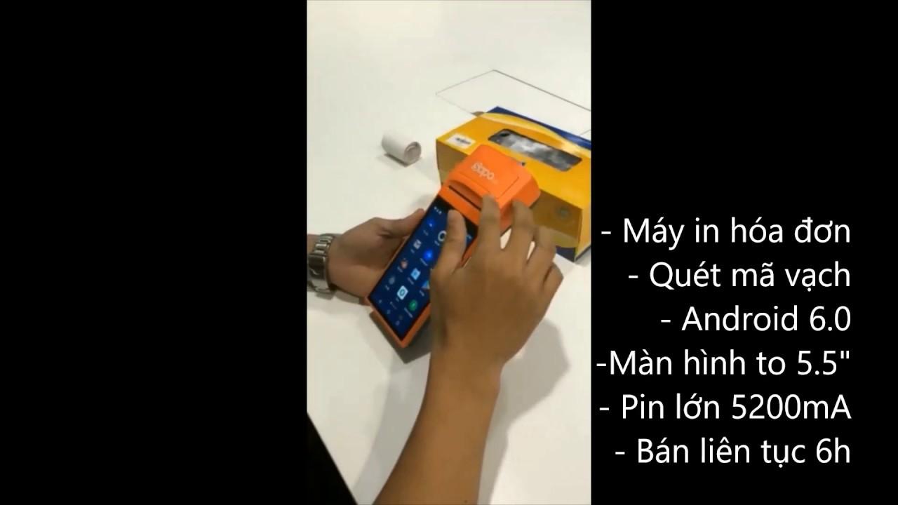 Đánh giá chi tiết về máy bán hàng cầm tay Sapo SM – Máy bán hàng Sapo