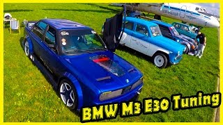 Classic German Sport Cars BMW M3 E30 Tuning. History of BMW M3 E30. Classic Cars Show