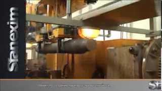 Обработка вагонной оси/The manufacture of railroad axle