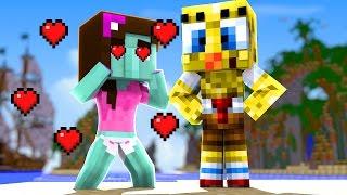 Minecraft: Who's Your Family? ME APAIXONEI PELO FILHO DO BOB ESPONJA?
