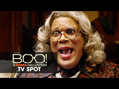 Boo! A Madea Halloween (2016 Movie – Tyler Perry) Official TV Spot – 'Paranormal'