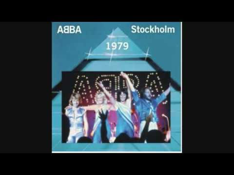 ABBA 16 Dancing queen live in Stockholm