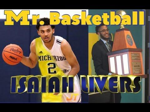 Isaiah Livers | 6'8 University of Michigan Commit | 2017 Mr. Basketball Award Winner