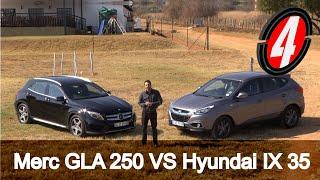 Mercedes Benz GLA 250 VS Hyundai IX 35 New Car Review