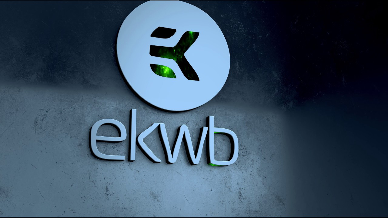 Wallpaper Engine - 3D/4k@60 - EKWB Logo