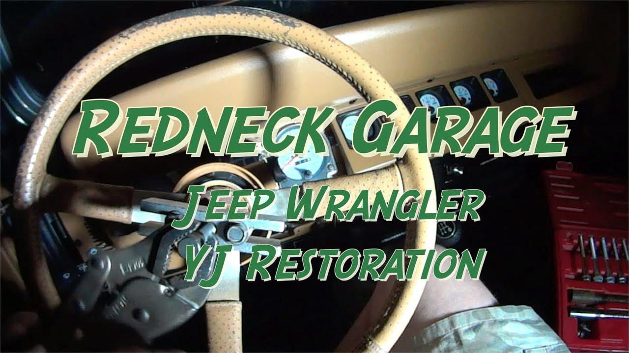 New Steering Wheel Installation  Ignition Cylinder