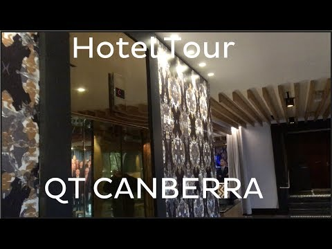 QT Canberra: Hotel Tour + Johns & Waygood mod. Kone Traction Lifts