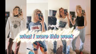 a REALISTIC outfits of the week ~extremely comfy~