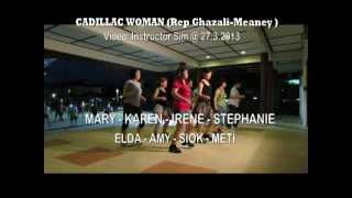 CADILLAC WOMAN ( Rep Ghazali-Meaney ) : Friendship Park Line Dancers @ 27.3.2013