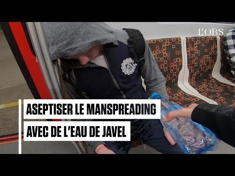 Cette russe verse de l'eau de javel sur l'entrejambe pour combattre le manspreading dans le métro