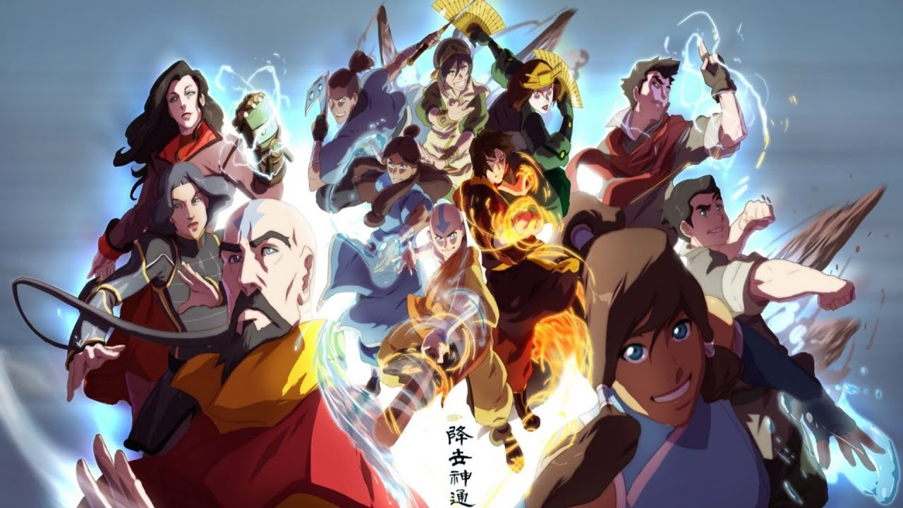 Top 30 strongest avatar the last airbender legend of korra top 30 strongest avatar the last airbender legend of korra characters out of date youtube voltagebd Image collections