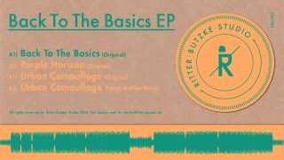 Schlepp Geist - Back To The Basics (Original) / Ritter Butzke Studio 005