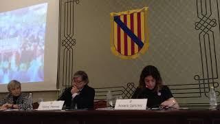 Rosario Sánchez entrega el proyecto de presupuestos al Parlament