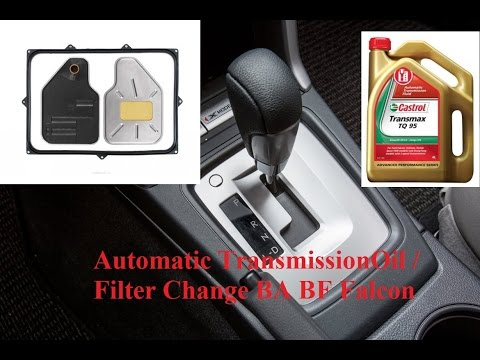 Transmission Fluid Change Ba Bf Ford Falcon Youtube