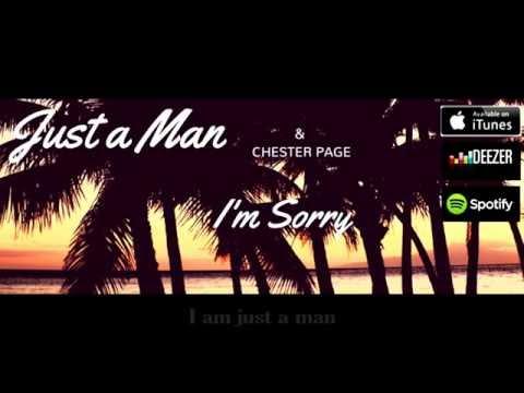 Just a man - I'm sorry 2016 (Lyric video)