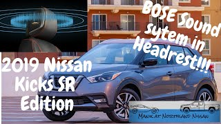 All New 2019 Nissan Kicks Sr Edition With Bose Premium Sound System~walk Around Video By Manik