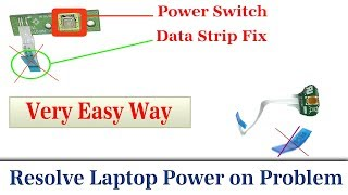 Dell power button cable failure