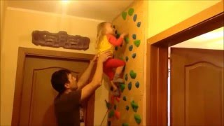 видео Как мы строили скалодром (и конечно оформляли)