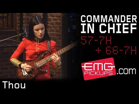 "Commander In Chief plays ""Thou"" live on EMGtv"