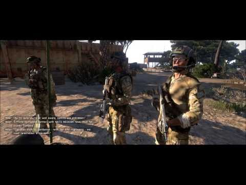 "ARMA3 Campaign ""Survive - Radio Silence"" with RCO Sight"