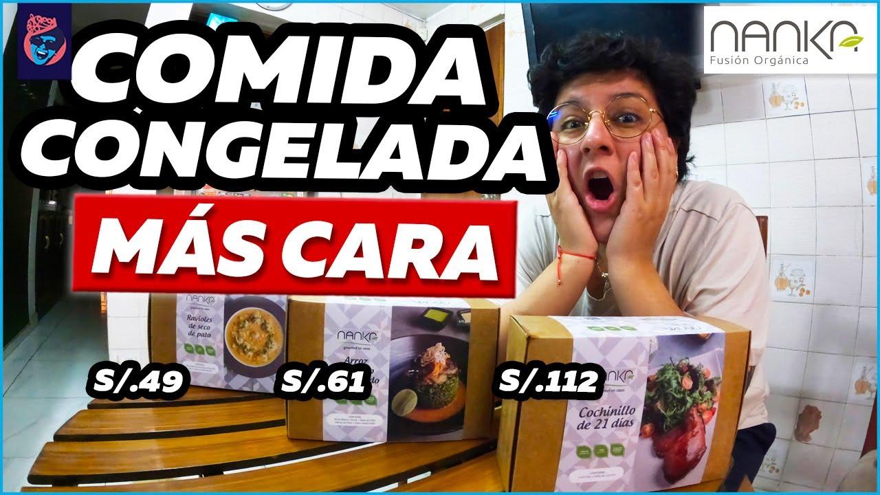 COMPRAMOS LA COMIDA CONGELADA MÁS CARA - Ariana Bolo Arce