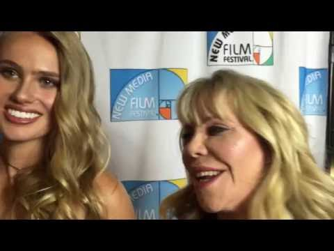 New Media Audience Award Winner Miss beverly Hills Ghost on the Red Carpet