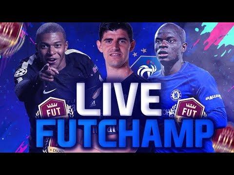LIVE   FIFA 19  fut champion  MATCH DE DIV RIVALS