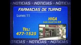 PRONÓSTICO Y FARMACIAS DE TURNO 2017 Video