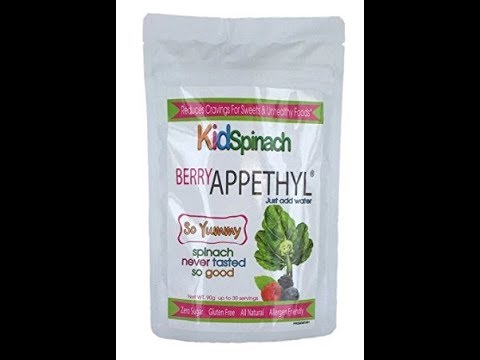 idSpinach, Delicious Berry Flavor Drink, Reduce Cravings for Sweets, Pure Spinach Extract with Bee