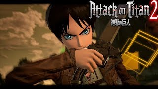 Attack on Titan 2 - Titan Shifters Transformation