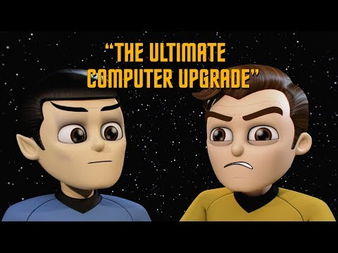 Star Trek - Captain Kirk vs USS Enterprise Computer