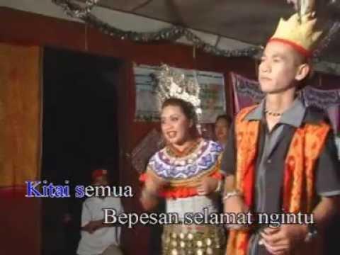 JESS M. JALANG & GALANG TAWI- Sinu Enda Ulih Pulai Gawai (LAGU GAWAI 2013)