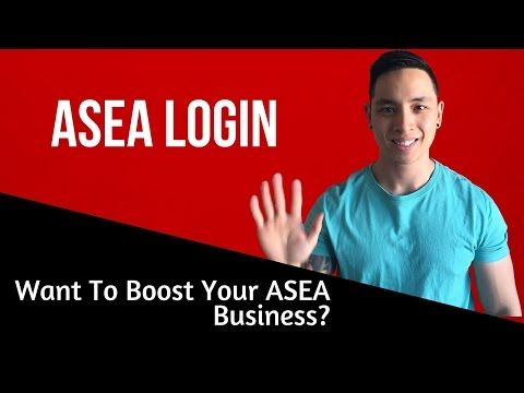 ASEA Login | Want To Boost Your ASEA Business?